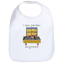 I Can Garden Anywhere Bib