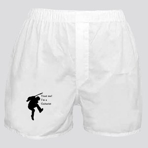 Trust me im a guitarist Boxer Shorts