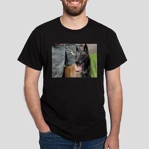 Smiling Belgian Malinois Dog T-Shirt