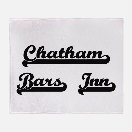 Chatham Bars Inn Classic Retro Desig Throw Blanket