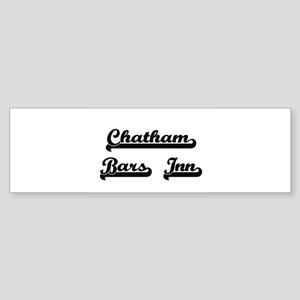 Chatham Bars Inn Classic Retro Desi Bumper Sticker