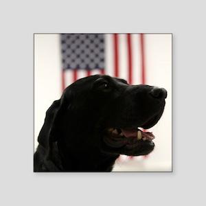 All-American Black Labrador Retriever Sticker