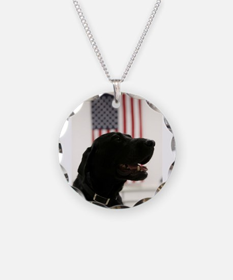 All-American Black Labrador Necklace