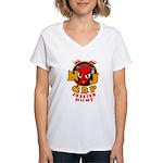 Skeeter Hunt Women's V-Neck T-Shirt