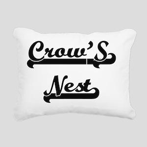 Crow'S Nest Classic Retr Rectangular Canvas Pillow