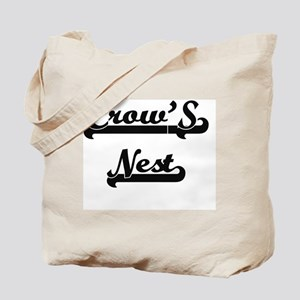 Crow'S Nest Classic Retro Design Tote Bag