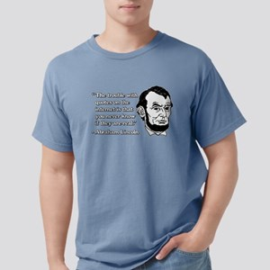 Abraham Lincoln Internet Mens Comfort Colors Shirt