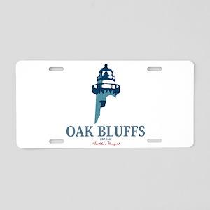 Oak Bluffs Aluminum License Plate