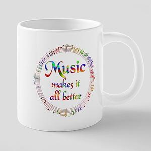 Music Makes it Better Mugs