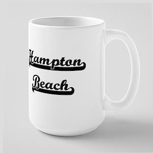 Hampton Beach Classic Retro Design Mugs