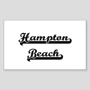 Hampton Beach Classic Retro Design Sticker