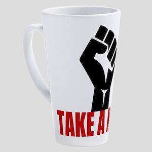 Take a Knee 17 oz Latte Mug