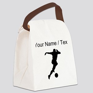 Soccer Player (Custom) Canvas Lunch Bag
