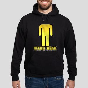 NEEDS HEAD Hoodie (dark)