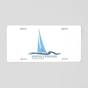 Martha's Vineyard. Aluminum License Plate