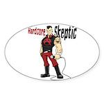 Hardcore Skeptic Sticker