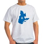 Map with Official Color Light T-Shirt