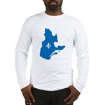 Map with Official Color Long Sleeve T-Shirt