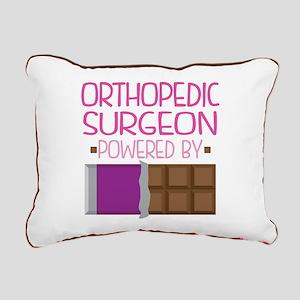 Orthopedic Surgeon Rectangular Canvas Pillow