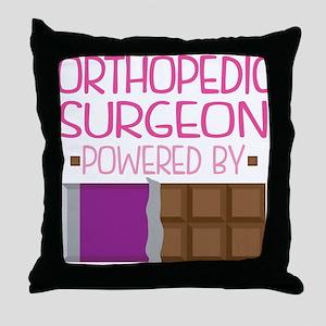 Orthopedic Surgeon Throw Pillow