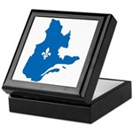 Map with Official Color Keepsake Box
