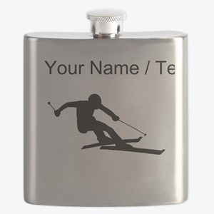Skier (Custom) Flask