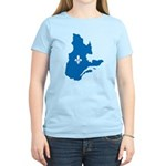 Map with Official Color Women's Light T-Shirt