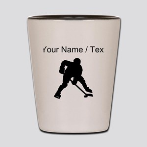 Hockey Player (Custom) Shot Glass