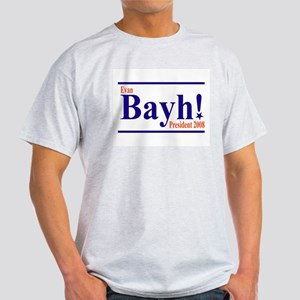 EVAN BAYH PRESIDENT 2008 Ash Grey T-Shirt