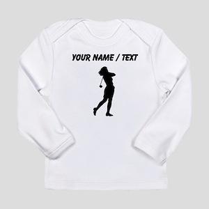 Woman Golfer (Custom) Long Sleeve T-Shirt