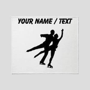 Figure Skaters (Custom) Throw Blanket