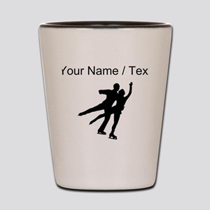Figure Skaters (Custom) Shot Glass