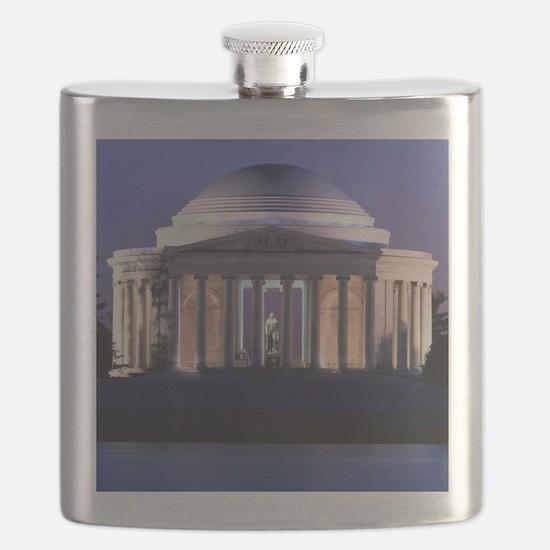 Thomas Jefferson Memorial at Dusk Flask