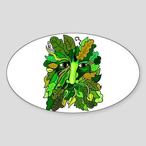 Pagan Greenman Sticker