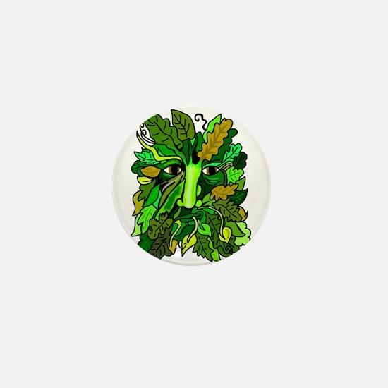 Pagan Greenman Mini Button