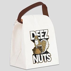 Deez Nuts Canvas Lunch Bag