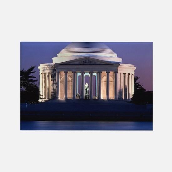Thomas Jefferson Memorial at Dusk Magnets