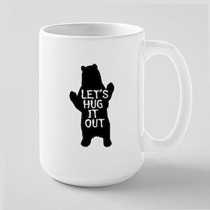 Let's hug it out, Bear Hug Mugs