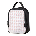 Pygmy Seahorse Pattern Neoprene Lunch Bag