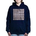 Pygmy Seahorse Pattern Women's Hooded Sweatshirt