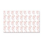 Pygmy Seahorse Pattern Rectangle Car Magnet