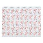 Pygmy Seahorse Pattern Wall Calendar
