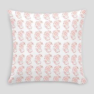 Pygmy Seahorse Pattern Everyday Pillow