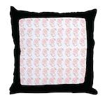 Pygmy Seahorse Pattern Throw Pillow