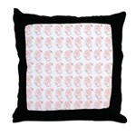 Pygmy Seahorse Pattern Throw Pillow