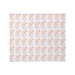 Pygmy Seahorse Pattern Throw Blanket