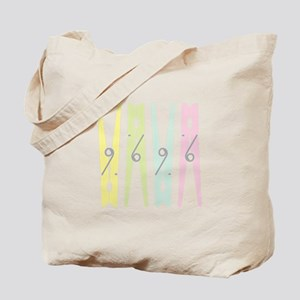 Laundry Clothespins Tote Bag