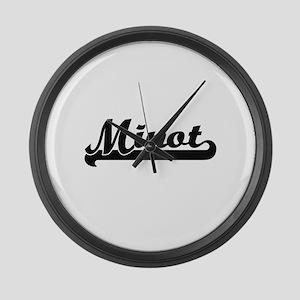 Minot Classic Retro Design Large Wall Clock