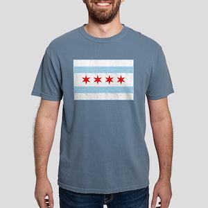 Chicago Flag Mens Comfort Colors Shirt