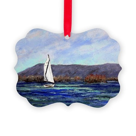 Enjoying SML Picture Ornament